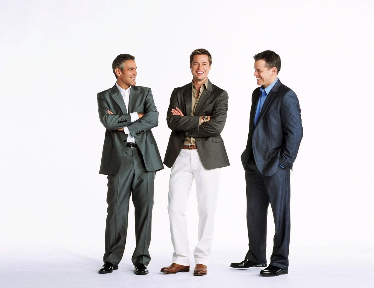 Brad Pitt ou Matt Damon georges clooney