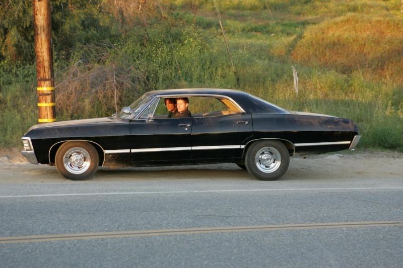 supernatural voiture