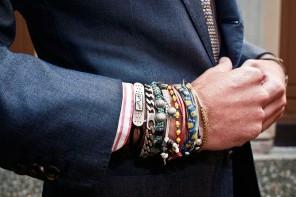 Bracelet pour homme et style masculin