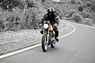 moto hiver